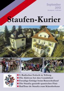 Staufenkurier 2013